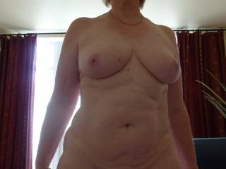 OMG! I love the body confidence you are showing in displaying all your georgeous life curves.  Many women think for a body to be sexy everything has to be firm muscles & inwardedly curving tummies. But I can tell you empathatically that natural mature bodies like yours are supremely desirable  & when put on show by a woman who oozes confidence & sexuality like you it is masively erotic & stimulating!  I would love to stroke & kiss every inch of your flesh - from that lovely face, then down teasing those supreme breasts, kissing & stroking those delightfully sexy belly curves & then onto the honey pot of sweet sexual pleasure that is your georgeous shaven pussy!  Yummy Mummy.  Red hot MiLF & lots of other superlatives come to mind.  Keep posting & l'll keep admiring & commenting