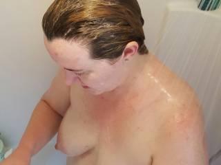 Shower fun time!