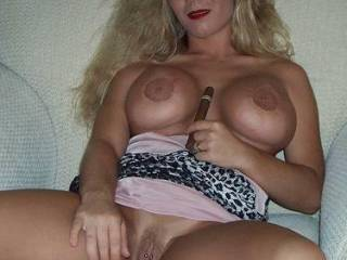 Wow...she is absolutely beautiful with a very sexy body and a pussy that is begging to be licked and eaten!