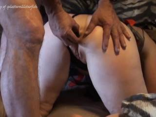 Our type of play that ends in a creamy finish all over her Plugged Lil Starfish and pussy! Sorry about the low sound but hope you enjoy it?