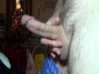 So, I was waiting for my girl, to get home from work. You know me, always horny. I decided to  videotape some playtime, before I pounded her pussy upon her arrival. This is from December, 2016.