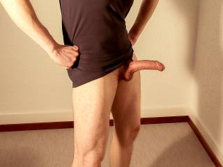 Just horny me with a major hard-on …