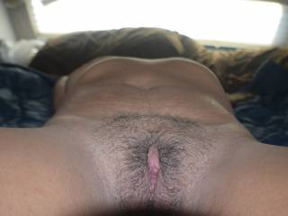 My pussy at is hairiest.