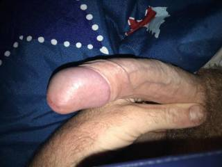 My cock ready and waiting