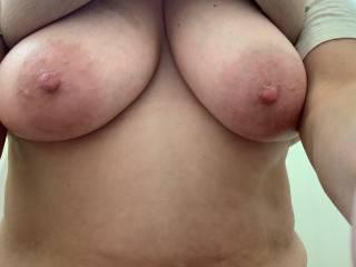 Wife's nice tits