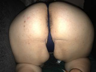 My sexy wife what a huge thick booty