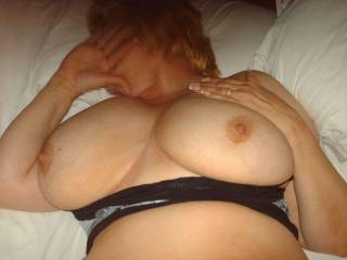 your tits are perfect hun...wolud love to have you wrap them around my stiff cock while i shoot a load of cum all over them
