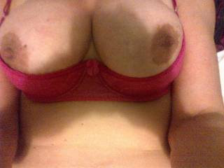Mmmm they look amazing would luv to suck, fuck, and cum all over em ;)