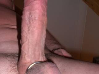 great looking cock! i'd love to have it stuffed in my tight little pussy :)