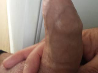 Ooh yeah mmm ... Kiss it First, then Lick it and after ... Run my Tongue up and down your Shaft and then take you in my Cock-Hungry Mouth and Roll your Soft Sexy Foreskin back with my Tongue, so I can Work on your Fat Swollen Cock-Head mmm. Would you like that?!?!?  Naughty Lucy♥ -x-