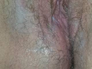hairy pussy filled