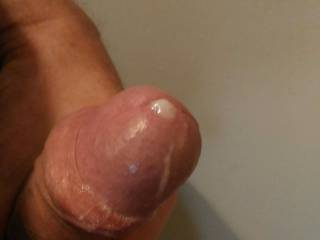 This morning, edging with little drop of  cum, front members Zoig...