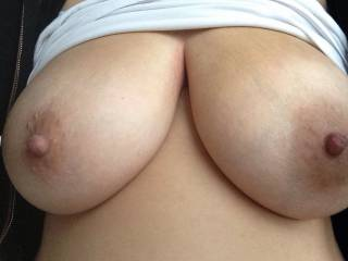 Those tits are so beautiful and suckable...!!!