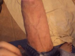 My dick out of my pants