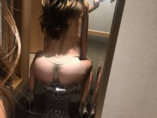 Date Night! Getting ready at the hotel! Drop us a line if you\'re a BBC bull ;)