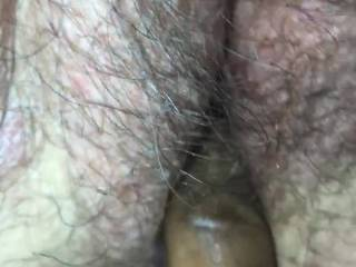 Finger banging the wife