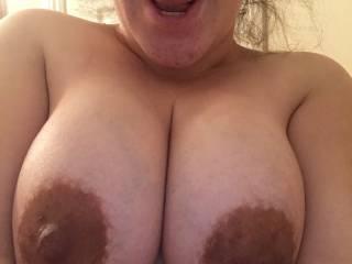 Wifeys huge tits