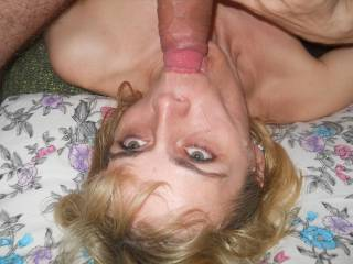 A face worth fucking!! Balls deep listening to her gag on my cock