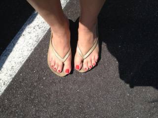 Would love to smell and suck them after a long day in flip flops!