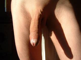 dam that is a perfect cock long thick veiny n hairless  god my pussy is so wet right now