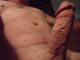 """Mmmmmm.... nice """"vascular"""" COCK!  Looks like it would fit in my mouth, (pussy & ass, too), very """"nicely""""!!!  Sue xxx"""