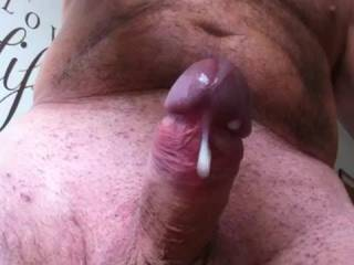 Great cum shot... hot cock and sexy hairy body!!