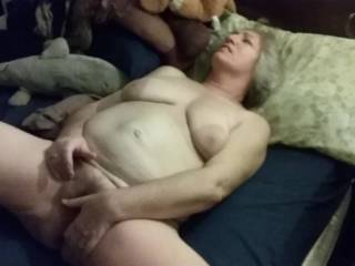 OMG She is so fucking sexy, fantastic body, would love to slide my cock into her hairy fat pussy
