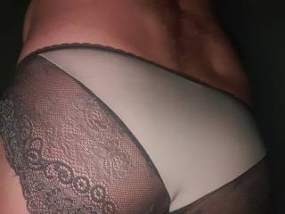 Ohhh the sexy feeling of panties you have to love it up ❤❤😛💝