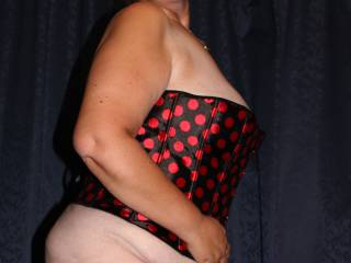 A couple of my bbw bod in lingerie.