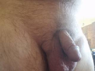 It will grow to a throbbing 65/8 inches long with BullBalls i shave smooth