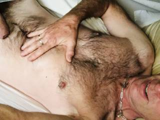 Hairy pantied cock x