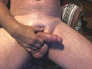 fat older cock ready to tribute your pics.......send for a hot cum shot.
