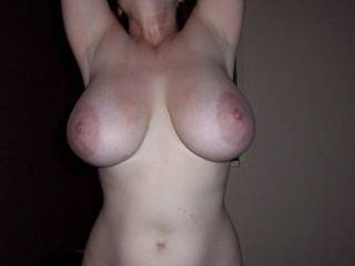 I need my tits sucked on or cum on them