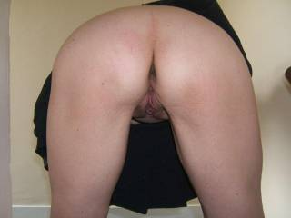 mmmm very fuckable puss and arse - would need to give those nice soft cheeks a good hard spanking first though. I would also enjoy pegging those pussy lips and clit before I spank you - sound like a good plan?