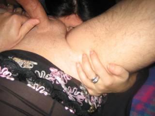 mmmmmmmmmmm love to suck that cock as she licks your ass