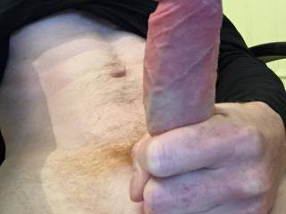 Ohhhhh, your huge hard dick makes my sex juices flow... slide it deep in my pussy and fuck me nice and slow...