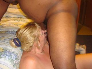 My first black cock !!!