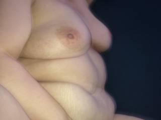 My sexy wife enjoying a good morning wood!! Mmmmm