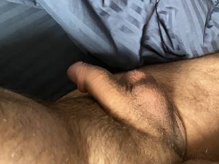 Woke Up Horny and Hard thought I'd Share!! Relaxing after a good Pulling!!