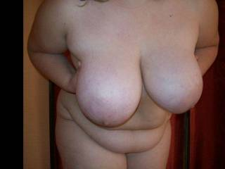 Love some beautiful huge Boobs, May i have the pleasure to kiss ,lick,suck,fuck, and cum all over those hoge beautys ?