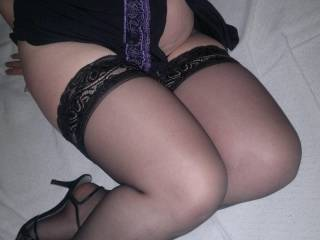 i do i do....would you mind if i rubbed my hard cock all over your soft silky legs?