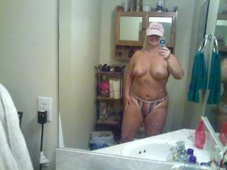 OMFG! a southern girl indeed with that cap on! Now that is the hottest fucking pic ever! Love em all!