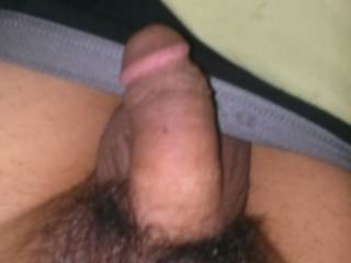 Suck it....I'll lock my lips around your cock head and as I'm sucking it I'll tug on it and stretch it several inches before I get finished...and it will be rock hard....well for a few moments anyway (before you cum).  lol  I love swallowing and sucking on smaller cocks too. K