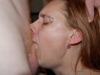 now that is skill! Damn I want here to swallow my 11 inch cock to the balls!