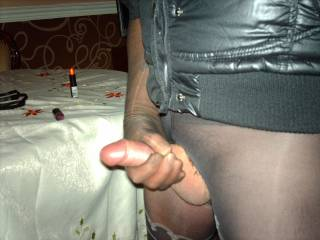 Would love to wrap my hands around you there - see you shooting cum everywhere.
