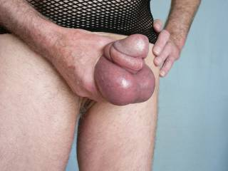 Just finished a cock and balls pumping session and wanted to show off