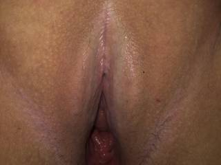 Beautiful wet tight pussy to stare at!