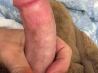 """When my cock says """"play with me!"""" You do, or face the consequences!😜"""