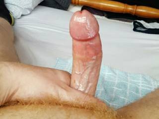 Just another picture of my cut cock and ginger pubes