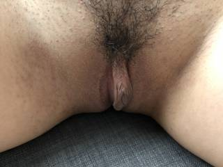Freshly shaved pussy for your jerk off enjoyment. Hope to see you make a video jerking off to my shaved pussy photo!
